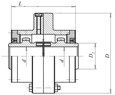 Муфта зубчатая серии МЗ - ЗАО «Литейно-механический