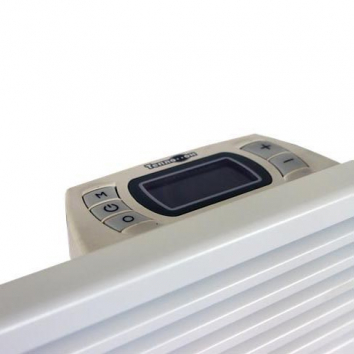 Комбинированный обогреватель Теплофон ЭВНАП 1,5/220 iT. (вид на экран термостата)